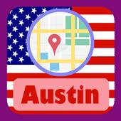 USA Austin City Maps icon