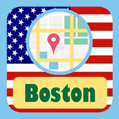 USA Boston City Maps icon