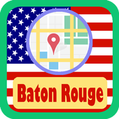 USA Baton Rouge City Maps icon
