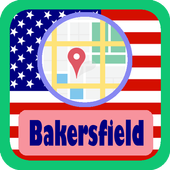 USA Bakersfield City Maps icon