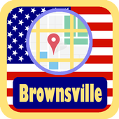 USA Brownsville City Maps icon