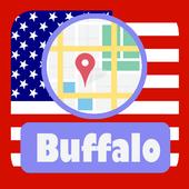 USA Buffalo City Maps icon