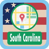 USA South Carolina Maps icon
