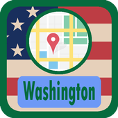 USA Washington Maps icon