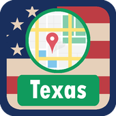 USA Texas Maps icon