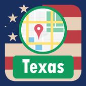 USA Texas Maps icon