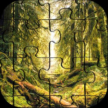 Forest Jigsaw Puzzle FREE poster