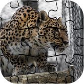 Best Free Jigsaw Puzzle Leopard Game icon