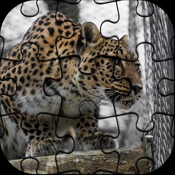 Best Free Jigsaw Puzzle Leopard Game poster