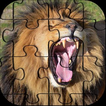 HD Lion Jigsaw Puzzle Game poster