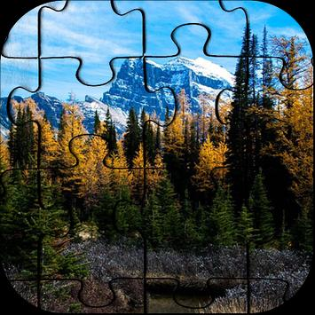 Free Mountain Jigsaw Puzzle Game poster