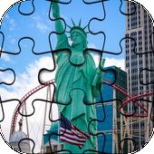 Beautiful New York Jigsaw Puzzle HD Game icon