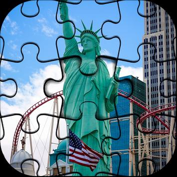 Beautiful New York Jigsaw Puzzle HD Game poster
