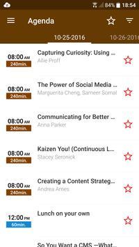 The LavaCon Conference apk screenshot