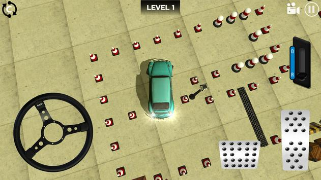 Classic Car Parking 3D poster