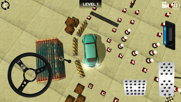 Classic Car Parking 3D screenshot 1