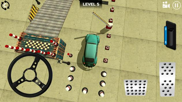 Classic Car Parking 3D screenshot 2