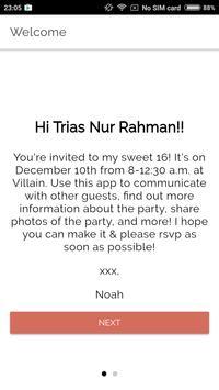 Noah's Sweet 16 apk screenshot