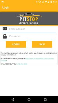 Pit Stop Airport Parking poster