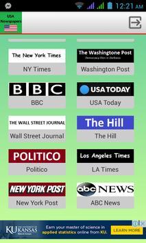 US Newspapers screenshot 1