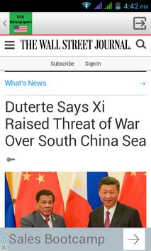 US Newspapers apk screenshot