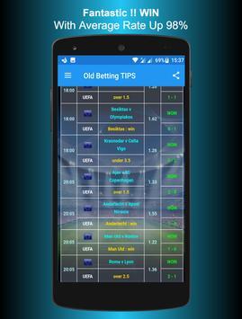 Betting TIPS VIP apk screenshot