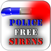 Police sirens (FREE) icon