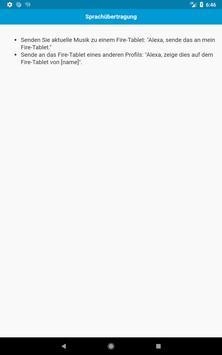 Befehle für Echo Dot apk screenshot
