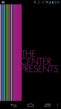 The Center Presents poster