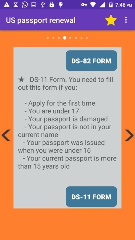 Us Passport Renewal For Android Apk Download