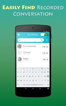 Phone Call Recorder On Phone ☎ screenshot 4