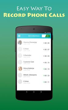 Phone Call Recorder On Phone ☎ screenshot 1
