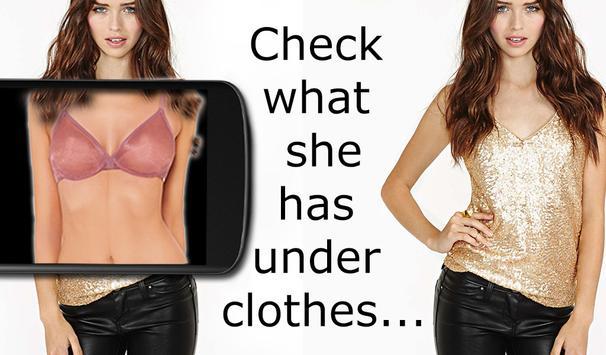 Scan under clothes! screenshot 7