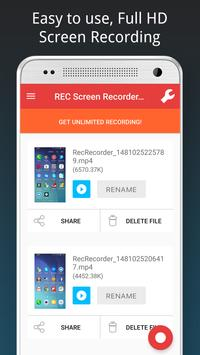 REC HD Screen Recorder poster