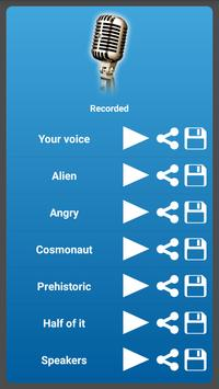 Unique voice effects apk screenshot