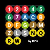 NYC Subway Map icon