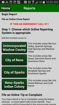 Washoe County Sheriff apk screenshot