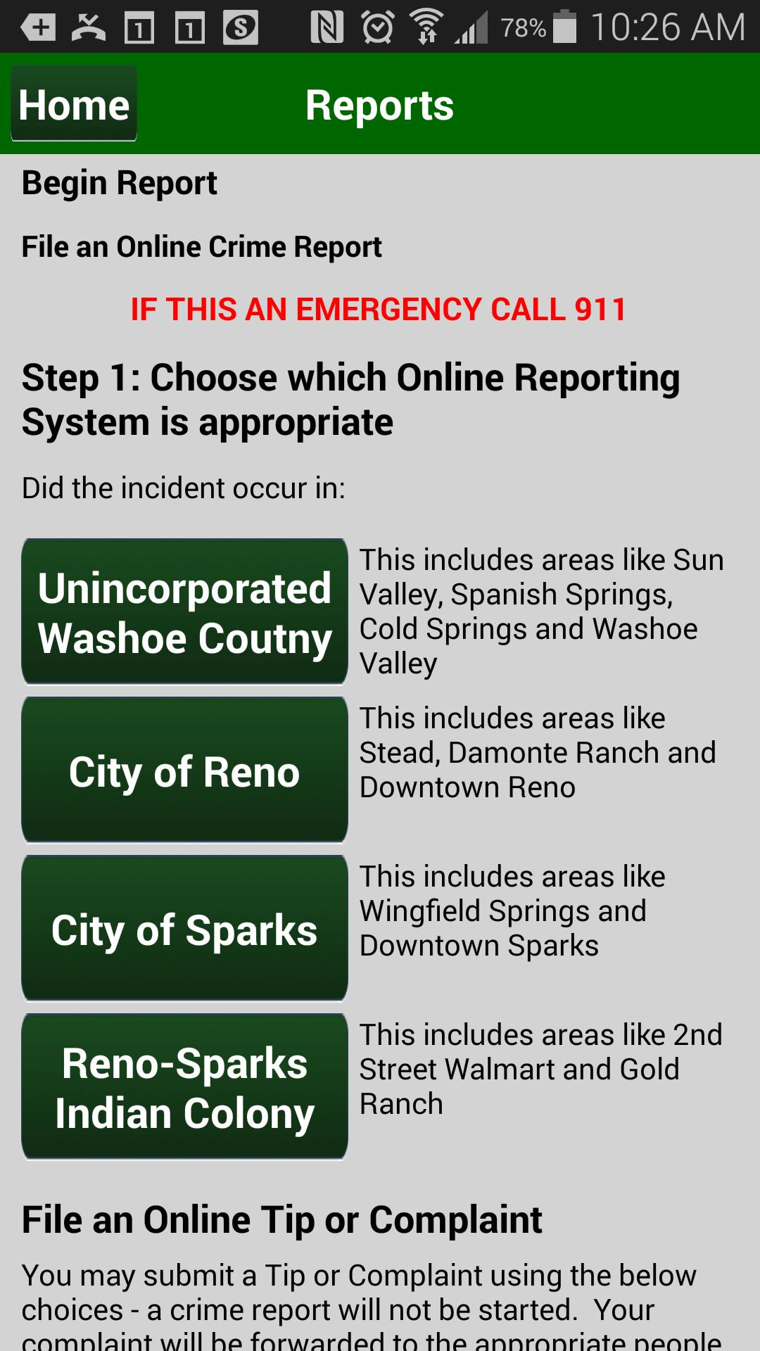 Washoe County Sheriff for Android - APK Download