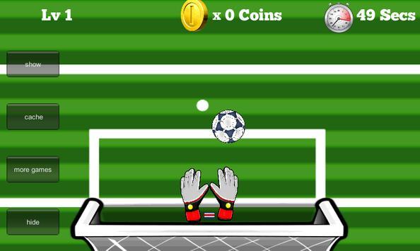 Amazing soccer Goalkeeper apk screenshot