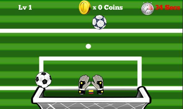 Soccer Goalkeeper Brazil 2014 apk screenshot