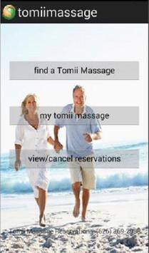 Tomii Massage poster