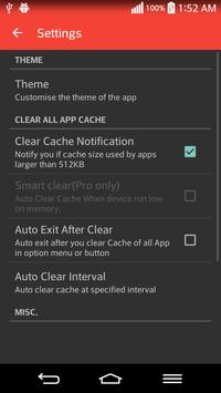 App Cache Cleaner apk screenshot