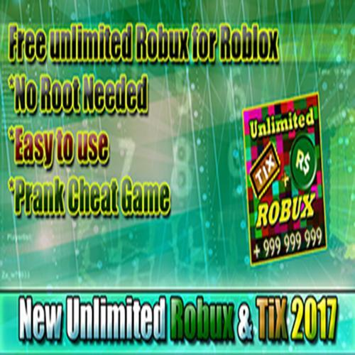 Unlimited Robux and Tix For roblox Prank for Android - APK