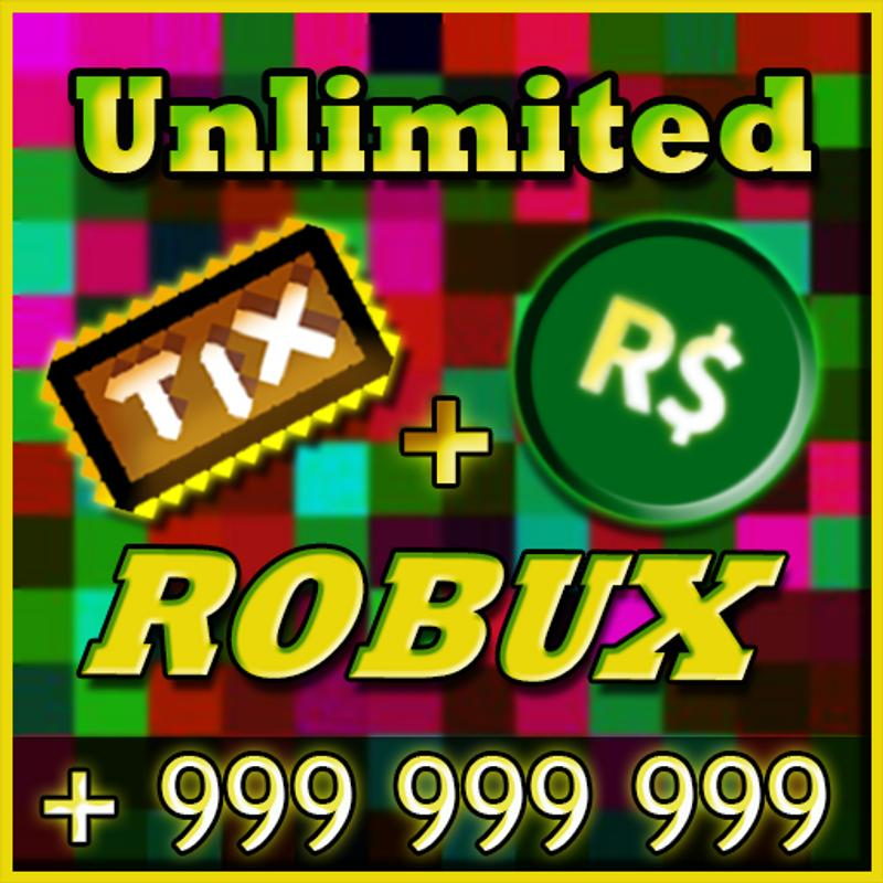 Unlimited Robux and Tix For roblox Prank for Android - APK ...