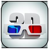 Super 3D Video Player PRO icon