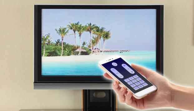 Remote control for TV screenshot 3