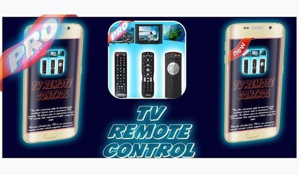 universal remote control pro poster