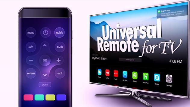 Advanced TV remote screenshot 1