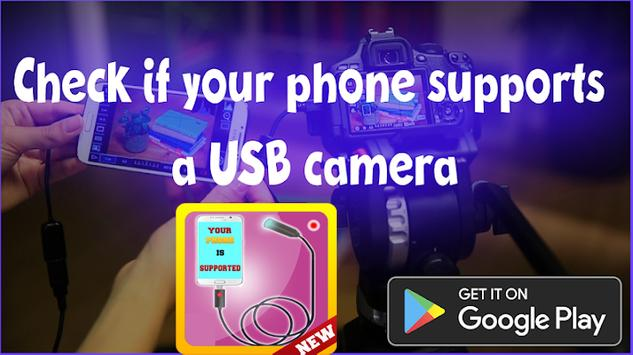 Usb camera mobile checker apk screenshot