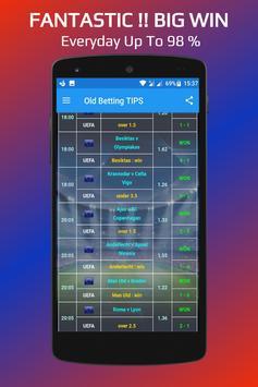Betting TIPS VIP : DAILY apk screenshot